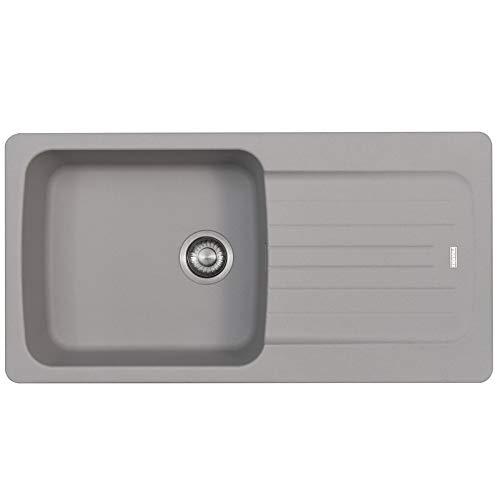 Franke Aveta 1.0 Bowl Grigio Tectonite Reversibile lavello da cucina e rifiuti