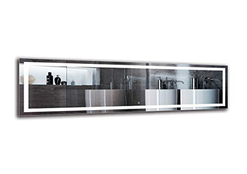 Espejo LED Deluxe   Dimensiones Espejo 180x50 cm