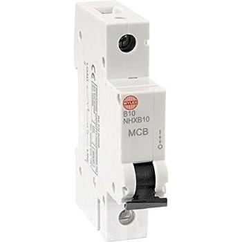 Niglon MCB6B132 32 Amp Type B Single Pole 6kA 230V Circuit Breaker MCB