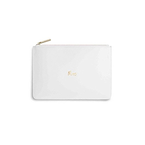 Katie Loxton - Perfect Pouch - Mrs - White