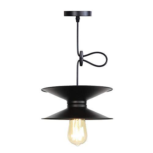 Modern, Metall, Single Head-Anhänger Leuchten Eisen Lampenschirm für Küche Restaurant Hang-Lampe Wohnkultur Beleuchtung Supermarkt Leuchte E27 Lichtquelle, C -