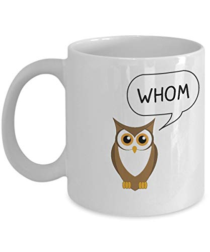 LUOBOGAN Funny English Teacher Mug - Silently Judging Your Grammar - Best Unique Gift for High School Humor - Sarcasm Tea Coffee Cup