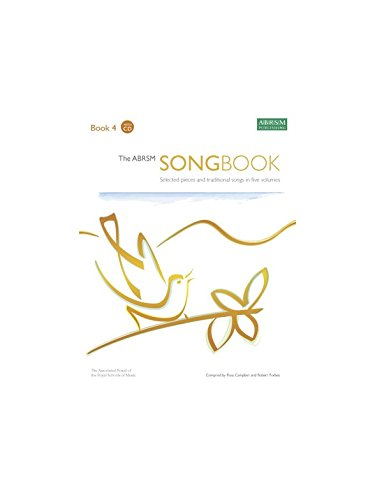 The ABRSM Songbook - Book 4. CD, Partitions pour Voix/Accompagnement Piano