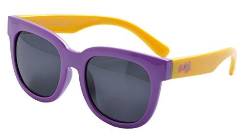 deding Flessibile Bambini Occhiali da sole polarizzati Wayfarer occhiali per neonati e bambini dai 3-10 C2 L