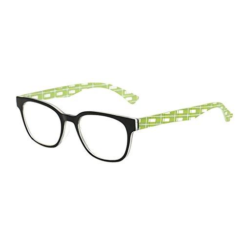 Yefree Lesebrille Voller Rahmen Mode bunt Lesebrille Resin - Rahmenlose Brillengestelle