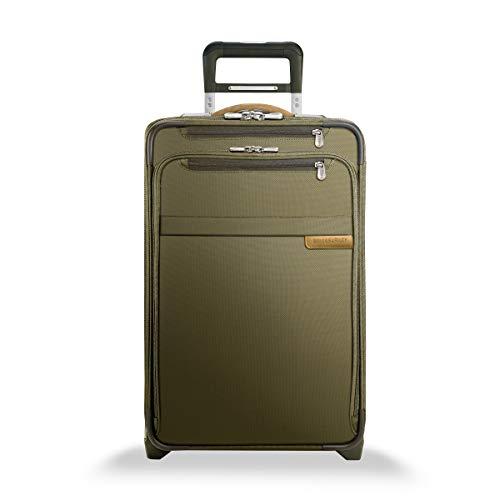 Briggs & Riley Baseline Gepäck Domestic oder erweiterbar Trolley Upright, olivgrün (grün) - U122CX-7 -