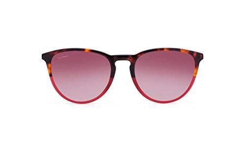 MISS HAMPTONS Unisex Sonnenbrillen  Nate , carey (montura carey marsala lente rosa degrado), größe Einheitsgröße