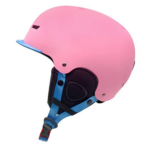 LAIABOR Kinderski-Helm Erwachsenenlichthelm Skisportwart Ausrüstung Schneehelfer geeignet zum...