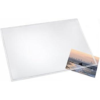 l ufer 43700 durella transparent glasklar durchsichtige schreibtischunterlage 50x70 cm. Black Bedroom Furniture Sets. Home Design Ideas