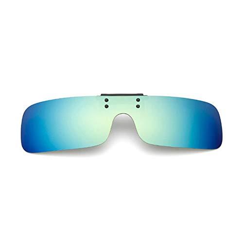 HYUHYU Polarisierte Klipp Auf Sonnenbrille Kurzer Anblick Fahren Nachtsicht Objektiv Anti-Uva Anti-Uvb Outdoor Sonnenbrille Clip