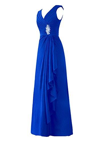 Dresstells Damen Abendkleider Homecoming Kleider Abiballkleider Gelb