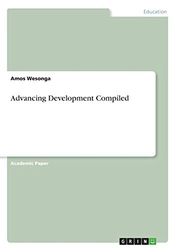 Advancing Development Compiled