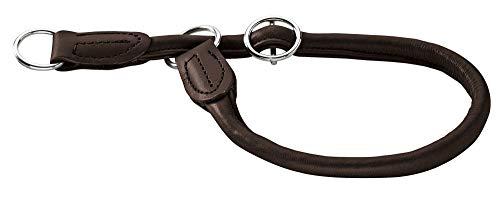 Hunter Dressurhalsung für Hunde Round & Soft Elk, schw… | 04016739415554