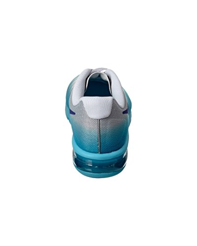 Nike Wmns Air Max Sequent, Chaussures de Running Femme Argent - Plateado (Pr Pltnm / Cncrd-Gmm Bl-Cl Gry)