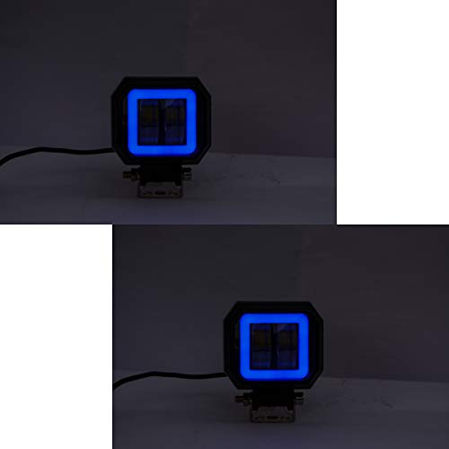 Spidy-Moto-Square-Fog-CREE-20W-LED-Spot-Driving-Fog-Lamp-Auxiliary-Light-DRL