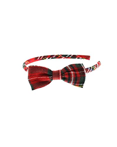 Price comparison product image Zac's Alter Ego® Tartan Alice Band with Bow