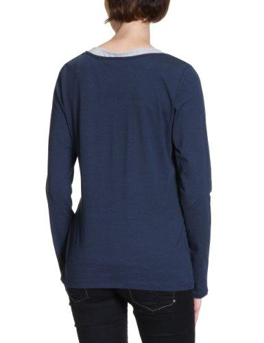 MEXX Damen Shirt/ Langarmshirt N1ME4229 Blau (463)