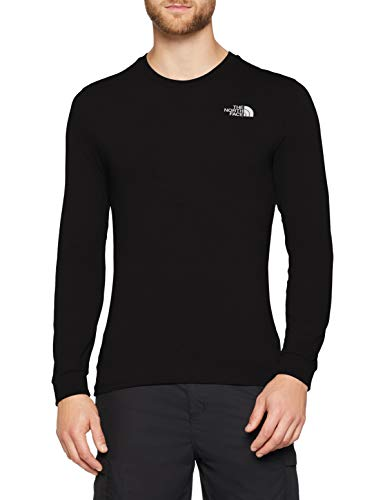 53cc9bd6d6 The North Face Simple Dome T-Shirt à Manches Longues Homme, TNF Black198 ,