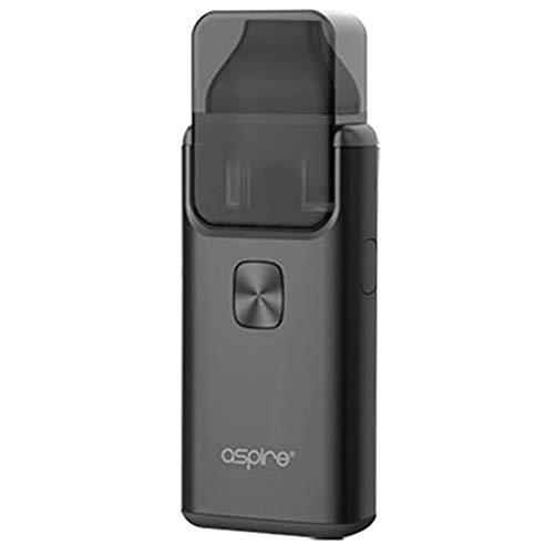 ze 2 AIO all-in-one Kit 3ml - 1000mAh Batterie/Top füllen/Eingebauter Verdampfer Enthält Kein Nikotin (Schwarz) ()