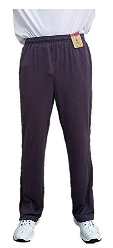 Men's Reebok Athletic Mesh Pants (Large, Grey/Blue) -