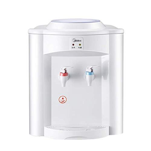 Elektrische Heißwasserspender für Küche Wasserspender Haushalt Mini Wasserspender Geschwindigkeit Ruhiges Design (Farbe: Weiß, Größe: 30 * 30 * 36,5 cm)