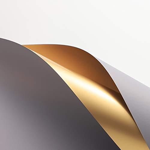 Blumen Wrapper, Gold Wasserdicht Doppelseitig Geschenkpapier Hochzeit Luxuriöse Wrapper, 60 * 60 CM (Farbe : #13)
