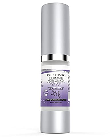 Ultimate Eye Gel by Keshima - For Crow's Feet, Puffiness,