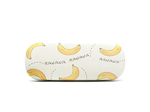 Young shinee Brillenetui Cute Fruit Glass Case Hard Sonnenbrille Fall für Kinder (Wassermelone) für Lesebrille (Farbe : Banana)