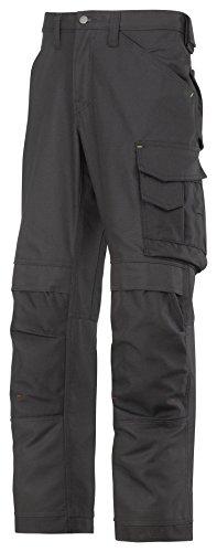 Snickers 3314 - Pantaloni da lavoro in tela Cordura® molto resistenti 46 Nero
