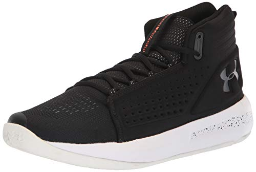 Under Armour Torch, Zapatos de Baloncesto para Hombre, Negro (Black/White/Charcoal 001), 45 EU