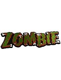 Kreepsville Gothic Aufnäher XL Zombie grün rot