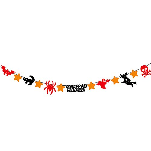 Black Temptation 2ST Happy Halloween Kreative House Party Decor 30CM-A