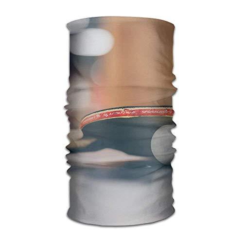 (Multifunctional Headwear Table Tennis Head Wrap Elastic Turban Sport Headband Outdoor Sweatband)