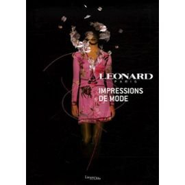 Léonard, impressions de mode