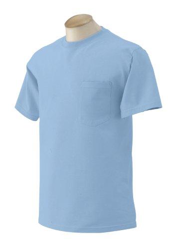 Pirate Booty auf American Apparel Fine Jersey Shirt Light Blue