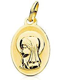 0ae1171f9158 Amazon.es  medallas virgen - Niña  Joyería
