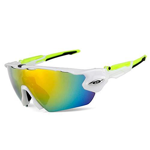 GLASSES Polarisierte Outdoor-Sportreitbrille, blendfreie UV-HD-Sonnenbrille, Angeln, Rennsport, Radfahren, Wanderbrille