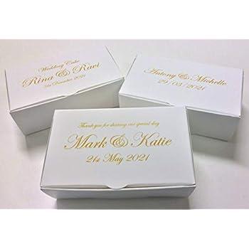 Mini Boite A Gateau Cadeau Pour Invite