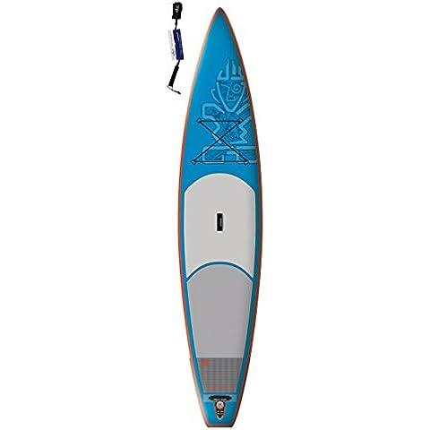 Star tarjeta Astro Touring Zen 12'6Sup tarjeta Incluye supwave. de Coil–Leash hinchable ISUP Stand Up Paddle