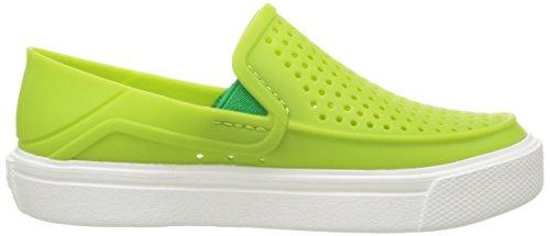 crocs Unisex's Green Sneakers-2 UK (J2) (204026-395)