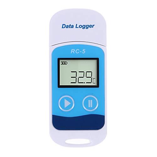ZJEGO USB Temperatur Datenlogger RC-5 32000 Punkte Aufnahmekapazität