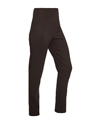 HisAndHers-Clothing Damen Boot-Cut Hose Braun