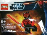 LEGO Star Wars: Shirtless Darth Maul Minifigura (Esclusivo) Set 5000062 (Insaccato)