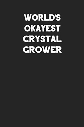 Ss 10 Crystal (World's Okayest Crystal Grower: Blank Lined Career Notebook Journal)