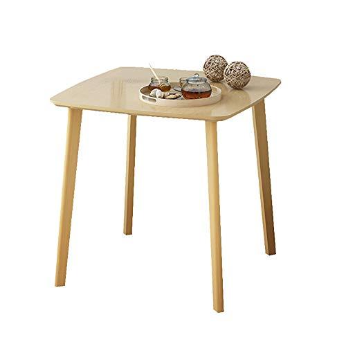 Cylficl Couchtisch Einfacher Moderner Kleiner Tisch Quadratischer Tisch Esstisch Sofa Side Nachttisch Ecke Mehrere Lässige Kleine Runde Tisch Couchtisch (Color : A, Size : 80 * 80 * 84cm) -