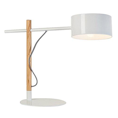 Luminaires & Eclairage-WXP Creative personnalité Étude Chambre Lampe de chevet Étudiant Enfants Apprentissage Oeil Soins Bureau LED Lecture Lampe de Bureau Mode Luminaires intérieur-WXP ( Couleur : Blanc )