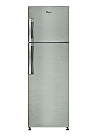 Whirlpool 245 L 3 Star Frost-Free Double Door Refrigerator (Neo FR258 Roy 3S, Illusia Steel)