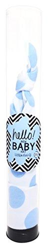 Poco Camarón recién nacido bebé Niños gorro blue spot en tubo de regalo