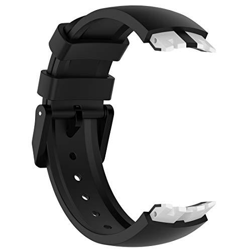 LOKEKE Ticwatch S Smart Watch silicone elastico di ricambio per fascia da...