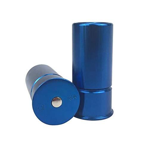 1 Paar Snap Caps 12 Bohrung Gauge Metall Hammer Pin Rest Aluminium Shotgun -